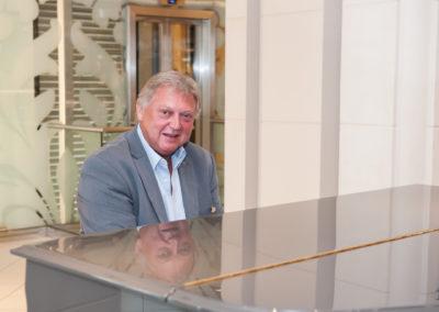 Edgar Pelz der Ozeanpianist